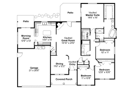 House Plans With Vaulted Great Room by Ranch House Plans Finley 30 364 Associated Designs