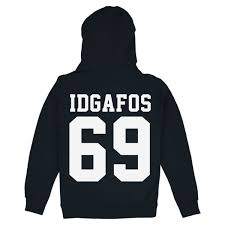 idgafos 69 hoodie navy dillon francis apparel online store