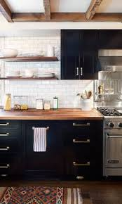 Black Cabinets White Countertops Traditional Kitchen Cabinets Dark Kitchen Cabinets Apothecary