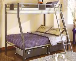 Metal Bunk Bed Ladder Fabulous Metal Twin Over Full Bunk Bed Modern Wall Sconces And