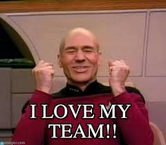 Team Meme - i love my team chauve heureux meme on memegen