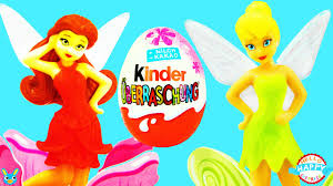 40 kinder surprise eggs disney fairies tinker bell pirate fairy