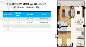 mall of asia floor plan shell residences by smdc