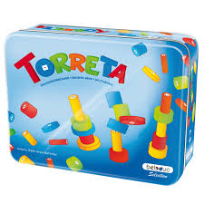 beleduc ของเล นพ ฒนาการ torreta metal box playto the