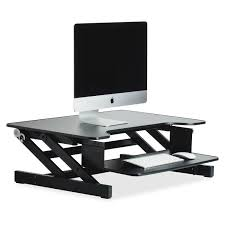 product llr81974 lorell adjustable desk monitor riser gsa advantage