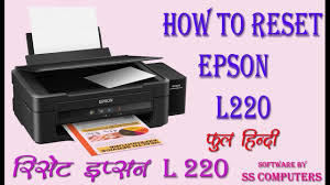 epson printer l220 resetter free download how to reset epson l220 अब आस न स र स ट कर