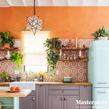 Turquoise And Orange Kitchen by Ss 17 11 10 Png