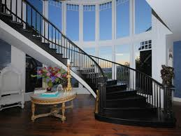 black staircase black curved staircase hooked on houses