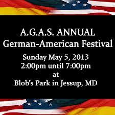 German American Flag Agas German American Festival 5 6 2012