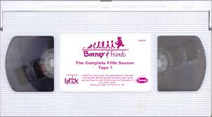 image barney u0026 friends the complete fifth season tape 1 png