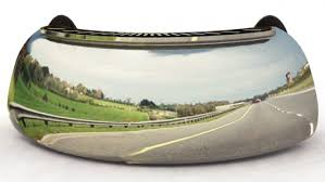 No Blind Spot Rear View Mirror Reviews Riderscan Rear View Mirror Takes On Blind Spots