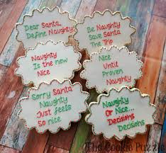 the cookie puzzle naughty and nice christmas cookies
