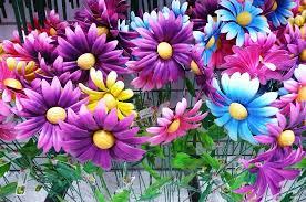 metal garden flowers rosalee3 flickr