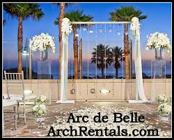 wedding arches rent miami manhattan modern wedding a from artistic arch and chuppah