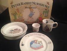 rabbit nursery set by wedgwood rabbit nursery set ebay