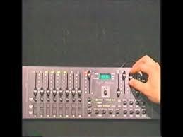 american dj duo station lighting controller light station wmv youtube