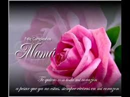 imagenes que digan feliz cumpleaños mami feliz cumpleaño madre mia youtube