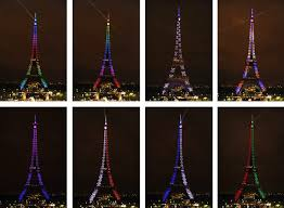 eiffel tower light show pictures of the day 23 october 2009 telegraph