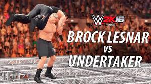 wwe 2k16 ps4 british bulldog vs x pac vs rikishi full match wwe 2k16 brock lesnar vs undertaker hell in a cell match