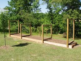 Raised Bed Vegetable Garden Design by Vegetable Garden Trellis Ideas Trellis Ideas Vegetable