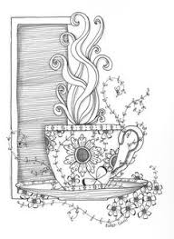 morning cup by ruth davis zentangle ideas visit me at my