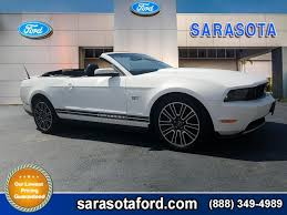 pre owned ford mustang convertible pre owned 2010 ford mustang gt premium convertible with navigation