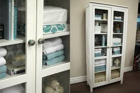 white linen cabinet with doors good better best linen closet steven and chris pertaining to modern