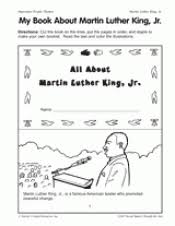 my book about martin luther king jr black history month