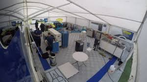 Motorsport Awning For Sale Welch Motorsport Awning Setup Thruxton 2016 Youtube