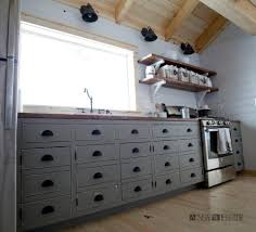 Kitchen Cabinets Style Ana White Diy Apothecary Style Kitchen Cabinets Diy Projects