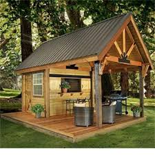 Best BBQ Shed Ideas Images On Pinterest Bbq Pigs And - Backyard shed design ideas
