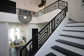 Contemporary Handrails Interior 17 Decorative Wrought Iron Railings For Any Style Home