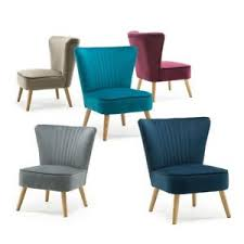Bedroom Accent Chair Lyssa Velvet Retro Occasional Bedroom Living Room Accent Chair