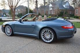 Porsche Macan Navy Blue - fs 07 997 c4s cab venetian blue metallic 15k miles 64k