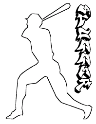 baseball coloring pages 12 coloring kids