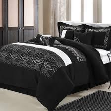 Black And Beige Comforter Sets Chic Home Design Comforter Sets