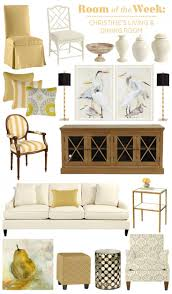 stylish modern living dining room how to decorate decorating christine s open living and dining room with classic furniture pieces and yellow