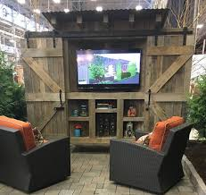 Rubbermaid Outdoor Corner Cabinet Bar Reclaimed Wood Rustic Outdoor Tv Cabinet With By Shovelsandspice