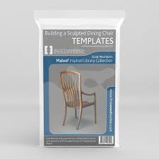 Build Dining Chair with Maloof Inspired Dining Chair Templates By Scott Morrison