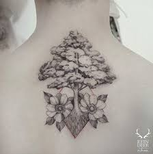 40 beautiful back neck tattoos for women tattoos hub