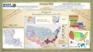 Map The Usa by Aiaa Houston Section International Activities Committee Iac
