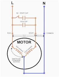 run capacitor wiring diagram ansis me