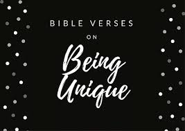 bible verses unique unbarred