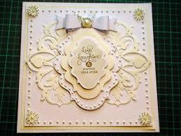 60 cardmaking tutorial ivory white griffin fretwork