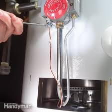 gas water heater pilot light but not burner how to replace a water heater thermocouple family handyman