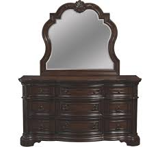 Bedroom Dresser With Mirror Alexandria Dresser Mirror Badcock More