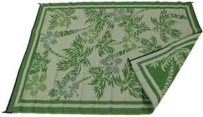 Camping Patio Mats by Rv Patio Mat Camping Rug Paradise Palm Tree Design Complete Kit 9 12