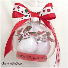ornaments pregnancy ornament personalized