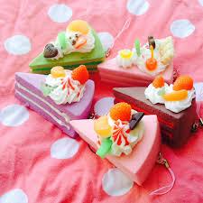 fruit cake slice squishy