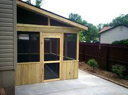 simple roof designs screened porch with patio by st buder thumbna shed roof designs